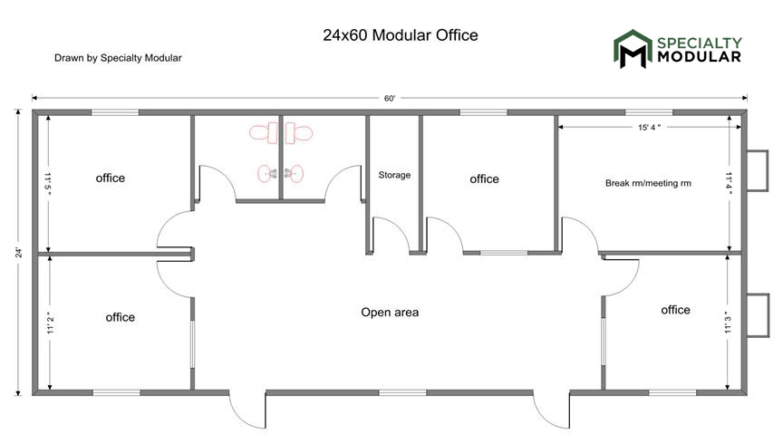 Specialty Modular Inc Floor Plans For Prefab Buildings